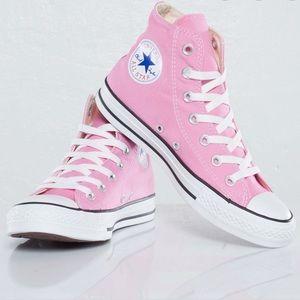 Converse CTAS Hi Rise Pink shoes